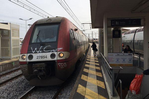 Lunel - Les voyageurs de la gare de Lunel pourront désormais bénéficier de nouveaux horaires de TER - 03.02.20