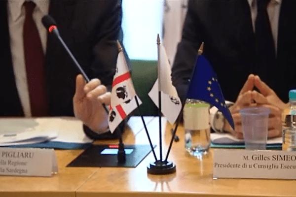 L'amitié corso-sarde à l'ordre du jour à l'Assemblée de Corse à Ajaccio