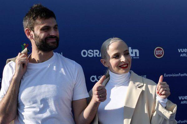 Le duo Madame Monsieur à Lisbonne pour l'Eurovision
