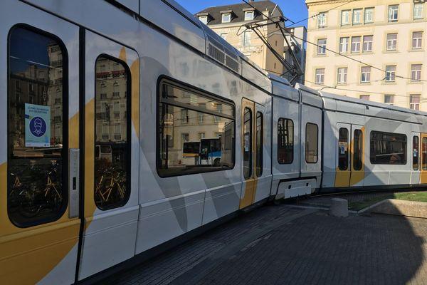 Tram de Grenoble (illustration)