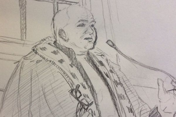 L'avocat général pendant ses réquisitions, le 2 septembre 2017. Procès des braqueurs présumés du magasin Aldi de Limoges en Octobre 2015.