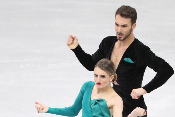 Le 25 janvier 2019 à Minsk (Biélorussie), à la veille de leur sacre européen, le couple Papadakis-Cizeron avait déjà conquis le public avec son programme de danse rythmique.