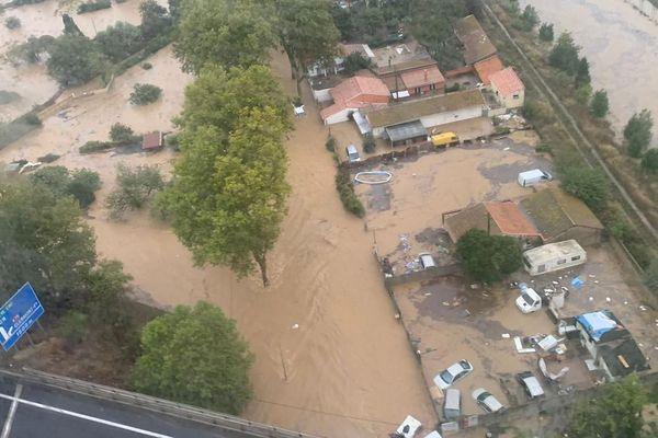 Béziers et ses alentours inondés - 23.10.19
