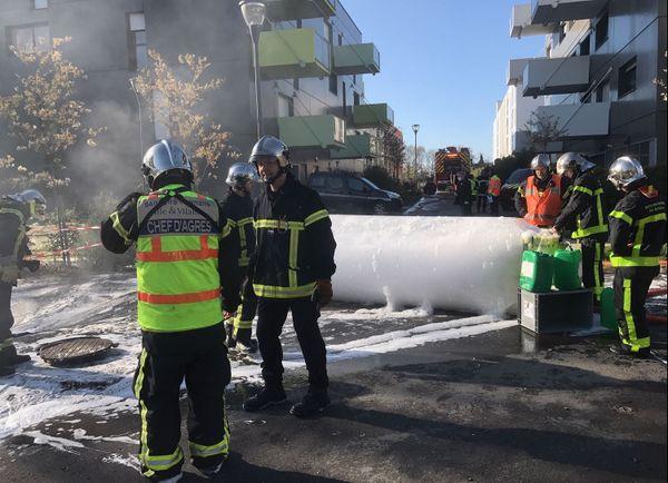 Une intervention pas courante pour les pompiers rennais à Vezin-le-Coquet