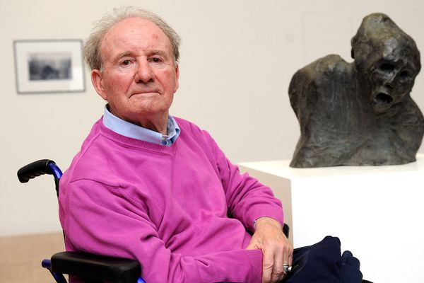 Le sculpteur Jean Roulland est décédé ce matin