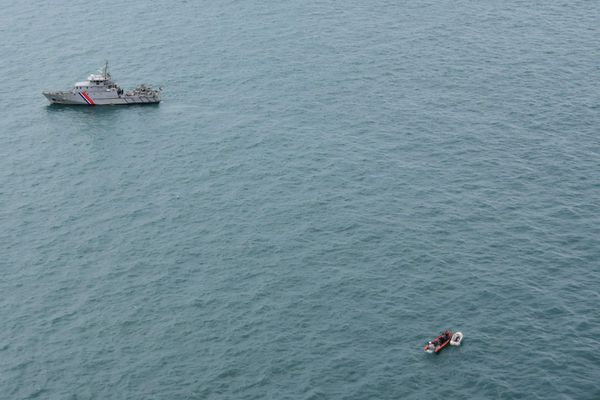 Traversées de la Manche : 4 migrants sont sauvés au large de Sangatte.
