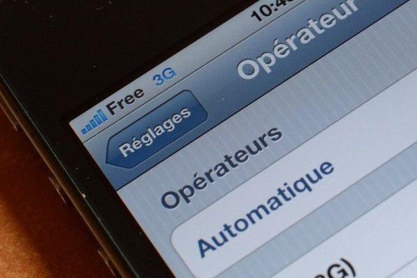 Le réseau 3G de Free est particulièrement montré du doigt.