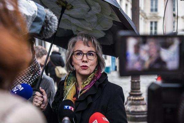 Jacline Mouraud lance son parti politique à Orléans (Loiret)
