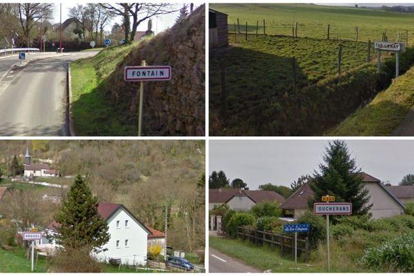Six communes du Doubs fusionnent à compter de 2019.