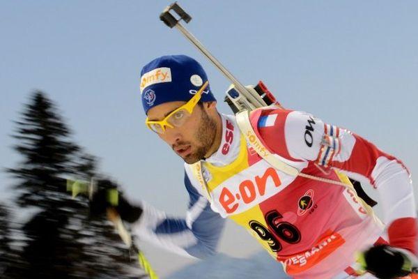 Martin Fourcade devra vite faire oublier sa contre performance - mars 2013