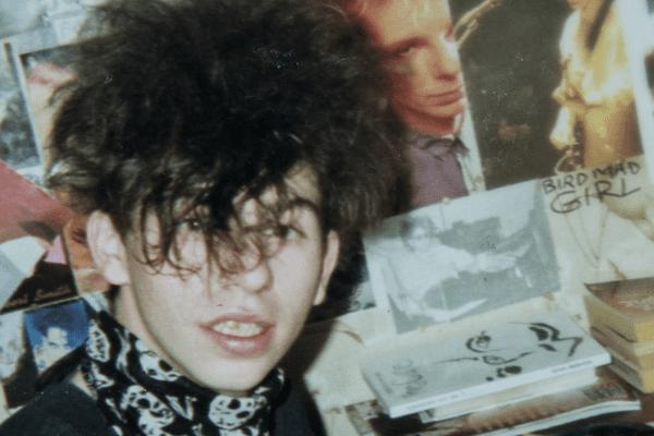 """Jérôme Grousset, ado en mode """"Curiste"""" dans les années 80"""