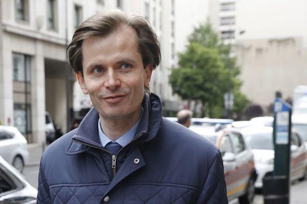 Guillaume Larrivé, député Les Républicains de la 1re circonscription de l'Yonne, en mai 2017