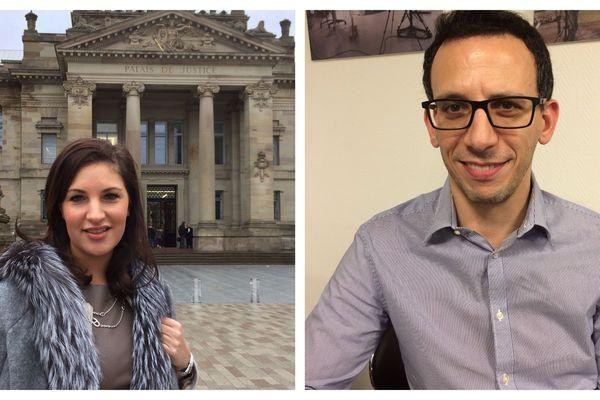 Julie Simon et Axel Sitruk sont 2 des 12 nouveaux juges consulaires de la Chambre commerciale du TGI de Strasbourg