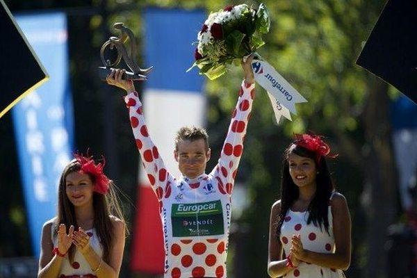 Le Français en a fait rêver plus d'un. Il termine le tour avec le maillot de meilleur grimpeur.