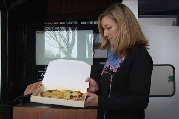 Pizza'dorr, le distributeur vendeur de pizzas, succès d'Adial-France à Lisieux (Calvados)