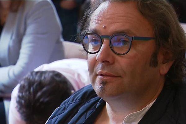 Sébastien David est vigneron en Indre-et-Loire depuis 1999.