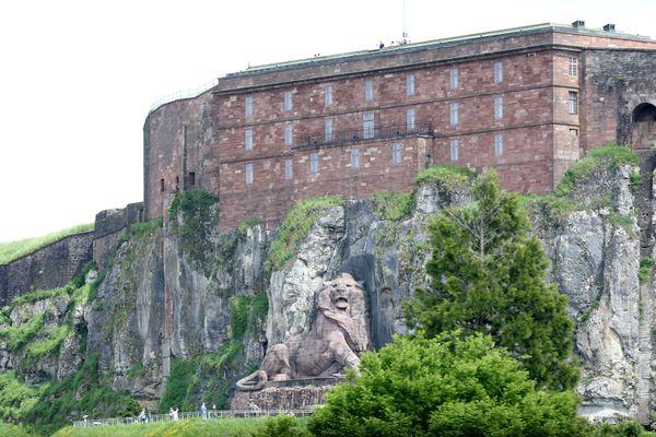 La Citadelle domine toute la ville de Belfort.