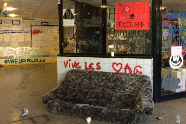 L'université de Rennes 2 pendant les blocages