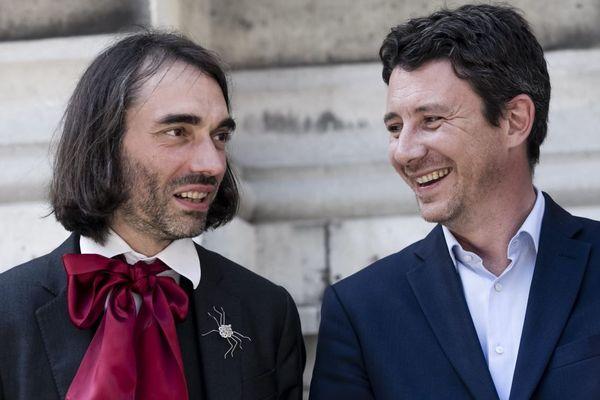 Du côté de LREM, l'ancien ministre Benjamin Griveaux semble au coude à coude avec le député Cédric Villani, d'après un nouveau sondage en vue des municipales de Paris en 2020 (illustration).