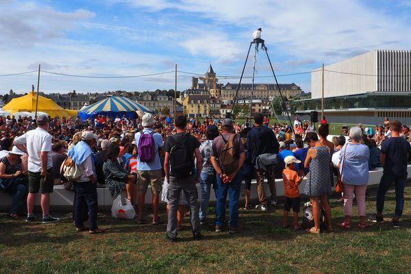 """Le festival """"Eclats de rue"""" est organisé par la ville de Caen"""