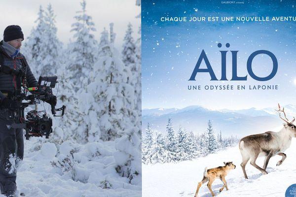 """Le film """"Aïlo, une odysée en Laponie"""" a été réalisé par le normand Guillaume Maidatchevsky"""