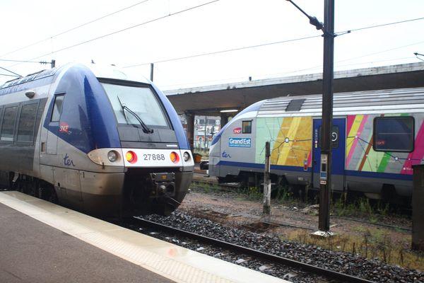 Des TER en Alsace