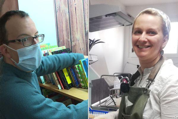 Xavier Sabato a ouvert son escapegame le Stratagème en plein centre-ville de Privas et Amélie Zurlo  vient d'ouvrir son entreprise de savonnerie la Fabrique des Monts et Merveilles à Saint-Chistol près du Cheylard en Ardèche.