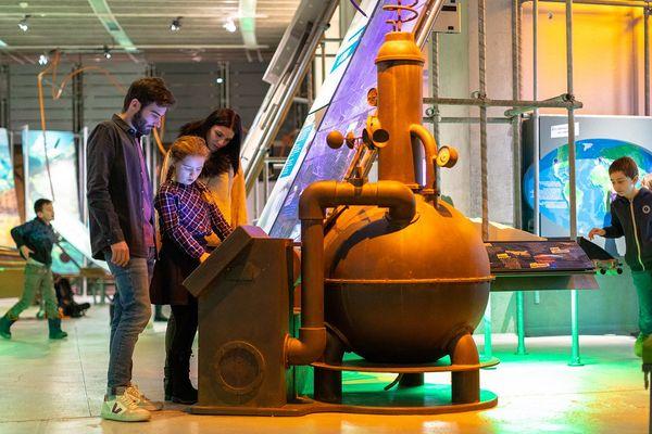 La galerie Euréka propose des expositions permanentes et temporaires