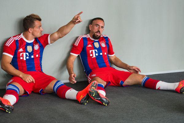 Franck Ribéry reste pour l'instant sur la touche.