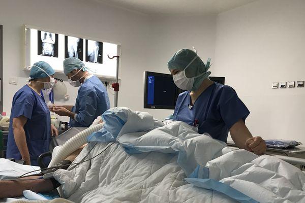 Stéphanie Guillot a choisi la spécialité bloc opératoire pour la technicité de ce métier