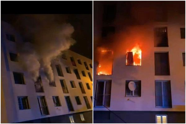L'incendie a dévasté un appartement du deuxième étage d'un immeuble d'habitation du quartier schilikois des Écrivains.