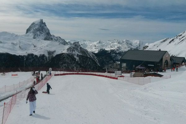 """Les skieurs pourront admirer """"Jean-Pierre"""" tous les week-ends de janvier."""
