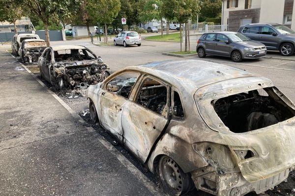 Des voitures incendiées dans la nuit à Aix les Bains