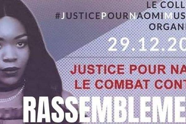 Affiche pour le rassemblement du samedi 29 décembre 2018