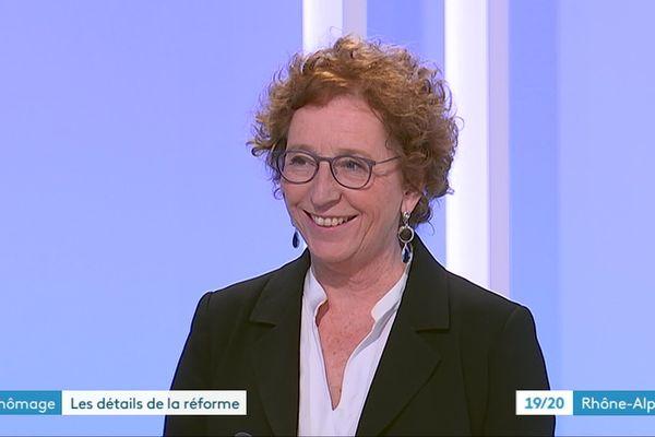 Muriel Pénicaud était l'invitée du JT de France 3 Rhône-Alpes, jeudi 20 juin 2019.