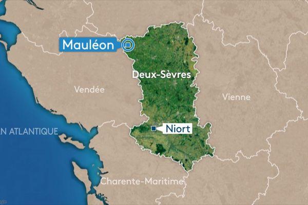 À Mauléon dans le nord des Deux-Sèvres