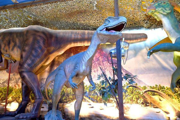 L'Univers des dinosaures (exposition) à l'Espace Méditerranée à Nice.