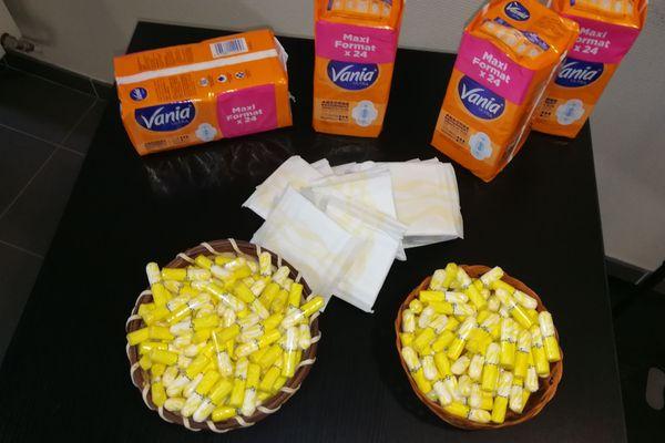 80 000 tampons et 15 000 serviettes hygiéniques distribués gratuitement ce mardi 10 mardi sur les sites de l'université du littoral