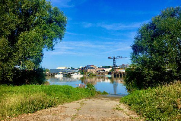 La Loire à Chantenay