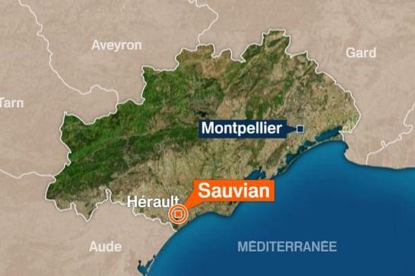 Le drame a eu lieu à Sauvian dans le biterrois