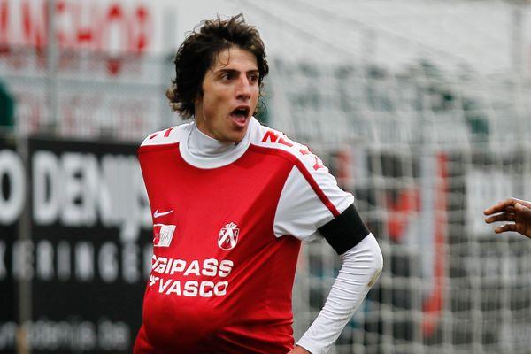 Pablo Chavarria, en 2012 à Courtrai. Il jouera désormais à quelques kilomètres de là, de l'autre côté de la frontière, à Lens.