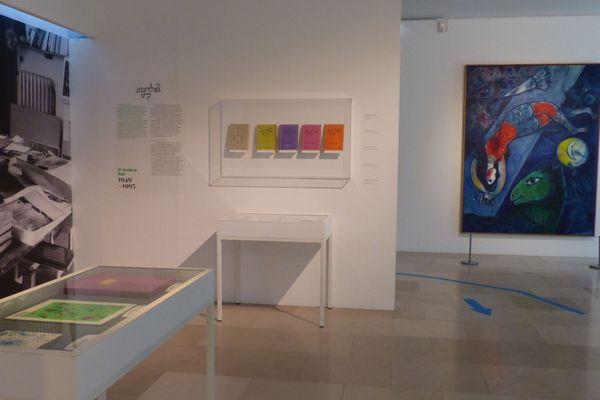"""A Nice, l'exposition sur Marc Chagall """"De couleur et d'encre"""" est à découvrir jusqu'au 11 janvier 2021."""