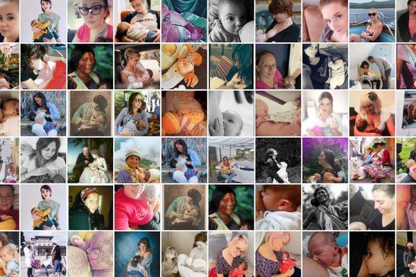 Elles ont publié des photos en train d'allaiter leur bébé, en soutien à Maÿlis.