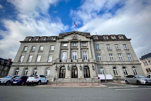 La mairie de Guéret
