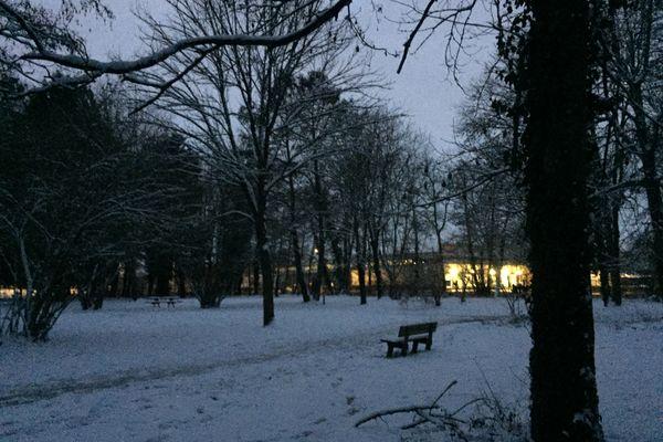 Le Parc des Moulins à Troyes.