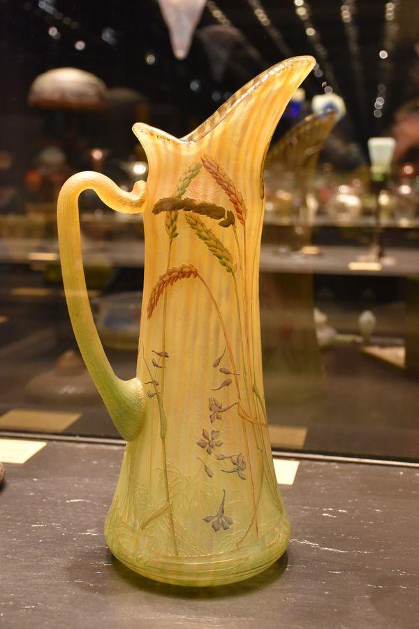 Cruche épis de blé et cigales - 1905