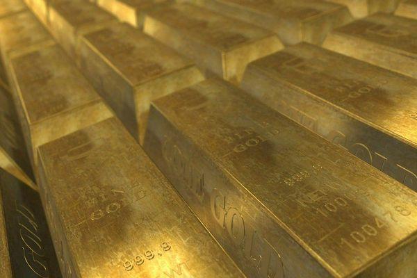 Des lingots d'or - Photo d'illustration