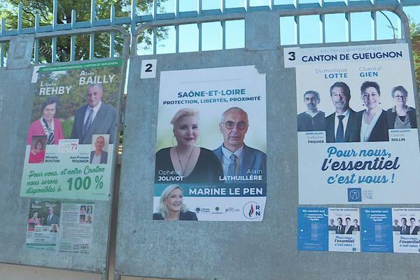 La gauche a perdu le conseil départemental de Saône-et-Loire il y a 6 ans.