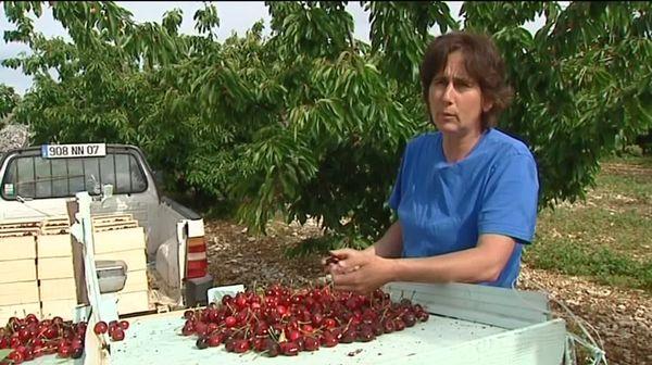 Chrystel Cesana, agricultrice