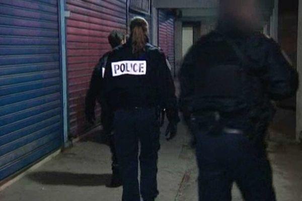 Patrouille de Police à Nice